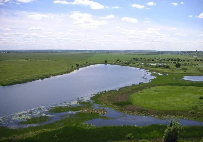 Озеро Тишь
