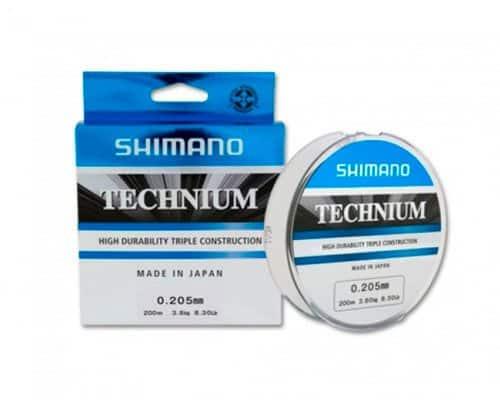 Леска Shimano Technium — выбор профессионалов