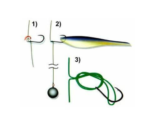 Спиннинговая ловля на оснастку дроп-шот