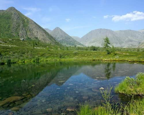 Озеро Малое Балбанты