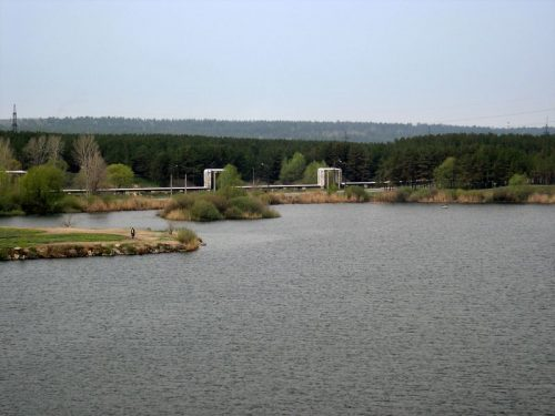 Пляжное озеро