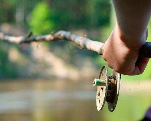 Ловля на маховую поплавочную удочку