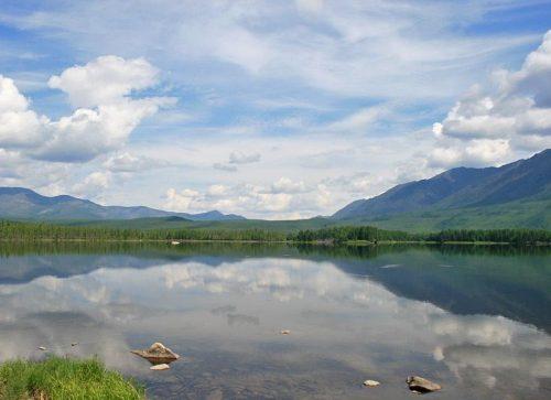 Балан-Тамур озеро