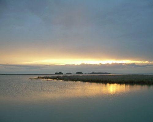 Малые Чаны озеро