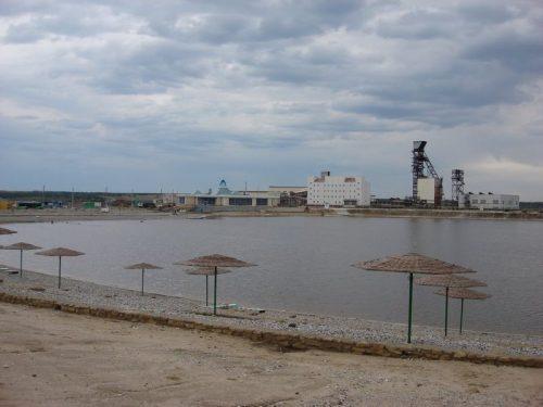Развал озеро