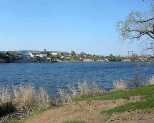 Сазанка озеро