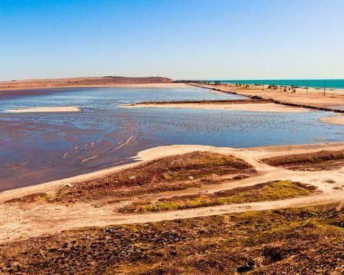 Солёное озеро
