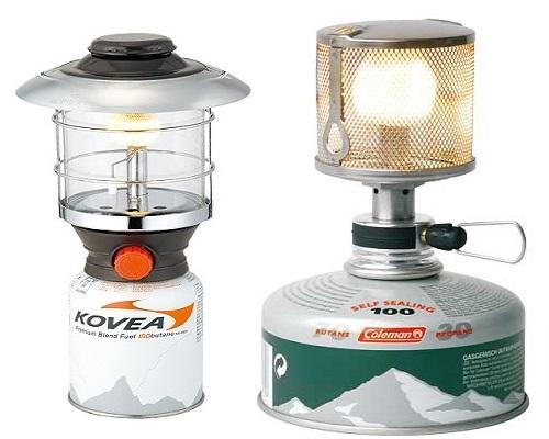 Газовые лампы для рыбалки