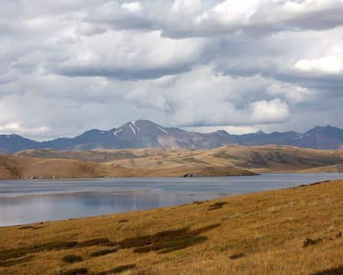 Хиндиктиг-Холь озеро