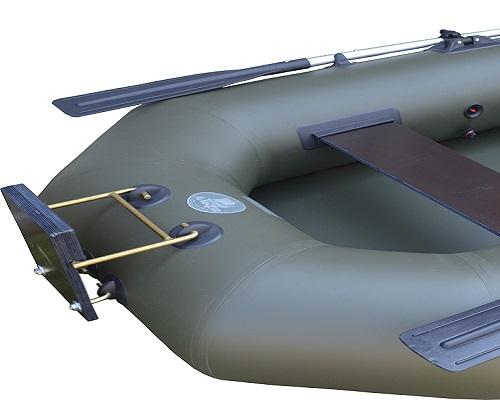 Установка транца на лодку