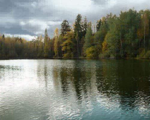Озеро Пясино