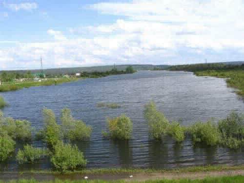 Сенная Курья озеро