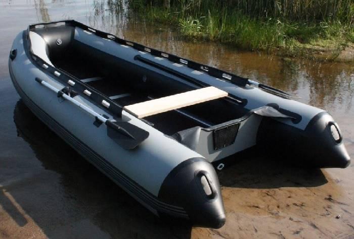 Транец на надувную лодку