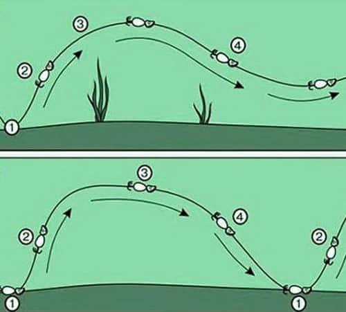 Волнообразная проводка