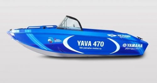 Официальная лодка Чемпионата мира — YAVA 470