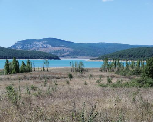 Чернореченское водохранилище (Чечня)