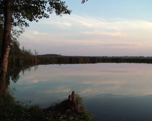Жаркое озеро