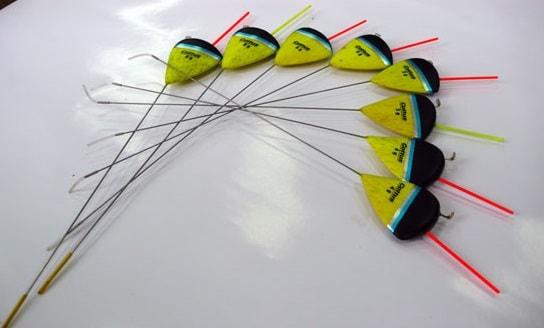 Поплавки для ловли на течении и оснастка снасти для рыбалки