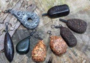 Какие бывают карповые грузила и как их подобрать
