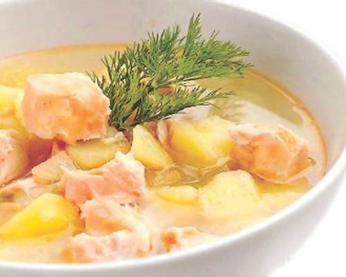 Сливочный суп из лосося (Лохикейтто)