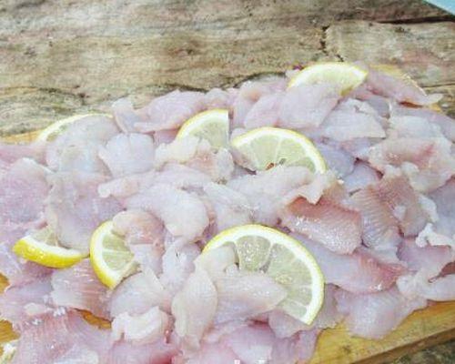 Закуска из филе хариуса с лимоном