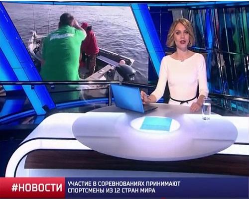 Сюжет телеканала Матч ТВ о Чемпионате мира по спиннингу с лодок