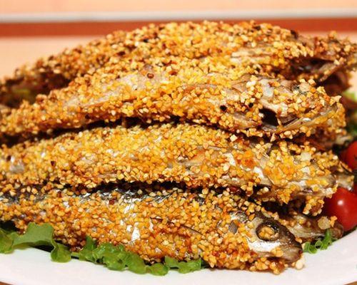 Рыба в кукурузной панировке
