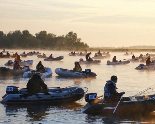 Чемпионат Москвы по ловле спиннингом с лодок