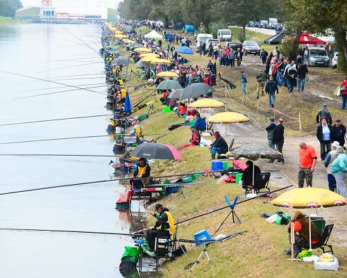 Чемпионат мира по поплавку, Бельгия. Первый день тренировок.