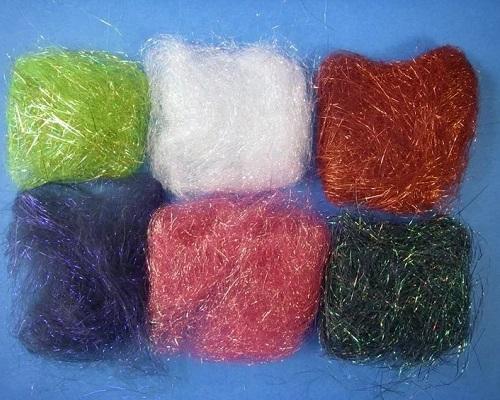 Синтетические материалы для вязания мушек