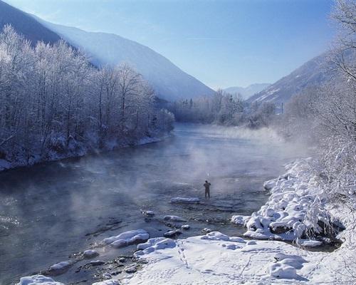 Два слова об одежде для зимней рыбалки