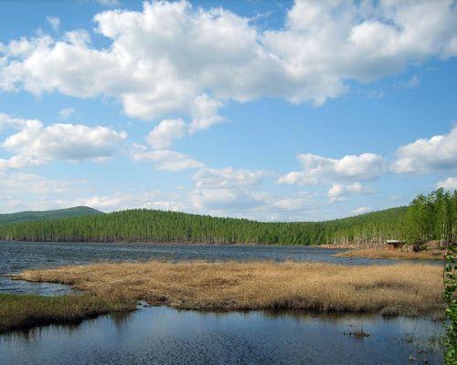 Серебры озеро