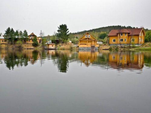 Косой Пласт пруд