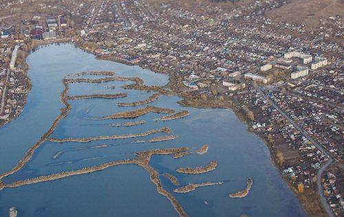 Миасский городской пруд