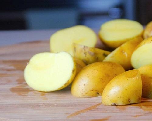 Рыбачим на вареный картофель