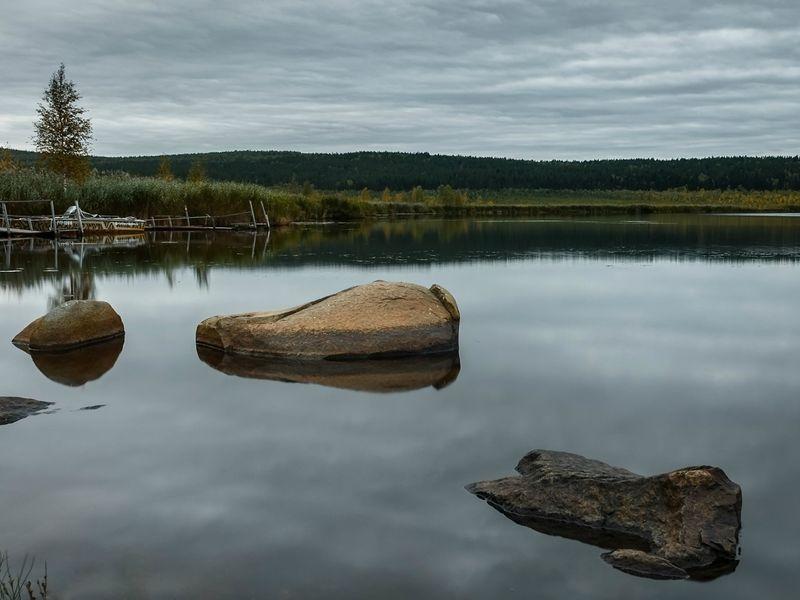 Чусовское Большое озеро