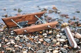 Ловля хариуса на кораблик