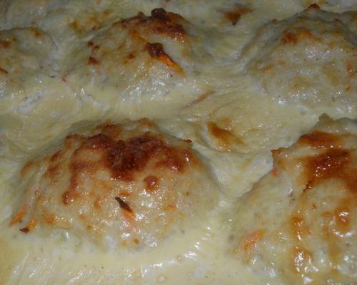 Тефтели в сырном соусе