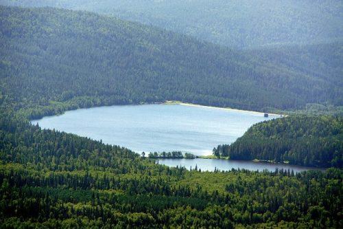 Большое Тесьминское водохранилище