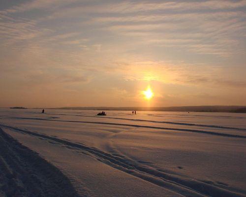 Рыболовный маршрут на озеро Костелампи