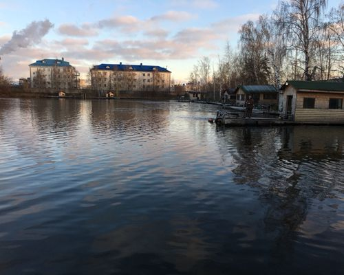 Частный пруд «У Бородина»