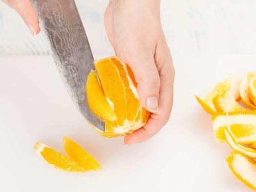 Пошаговый рецепт салата из рыбы с апельсинами
