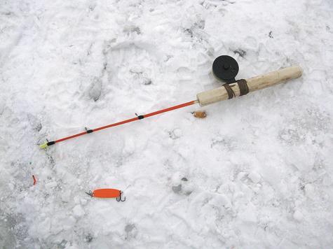 Ловля язя в январе