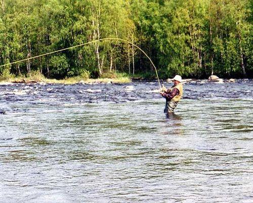 Сафари на хариуса, рыбалка на реке Писто