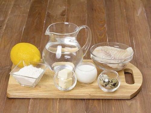 Отварная рыба под белым соусом - пошаговый рецепт приготовления