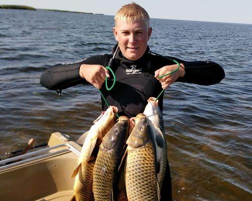 Рыбалка на Волге Дмитрием Сорокиным