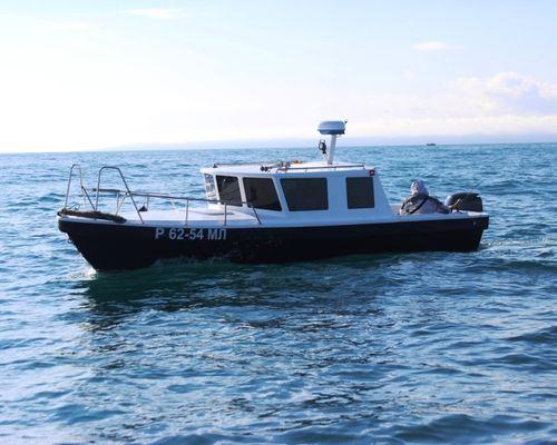 Морская рыбалка на катере «Баркас МТБ», Баренцево море
