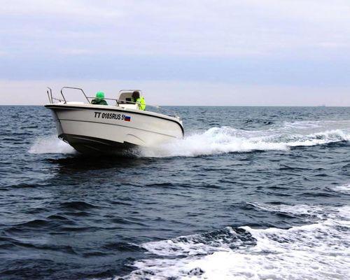 Морская рыбалка на катере Marinelab ML-777, Баренцево море