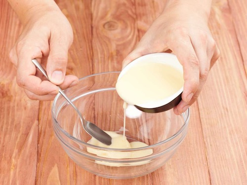 Семга запеченная с сыром и фруктами