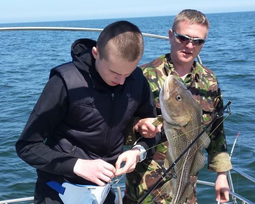 Рыбалка в Балтийском море с Андреем Мильниченко